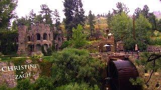 Rain + Colorado + Dunafon Castle = Christine & Zach
