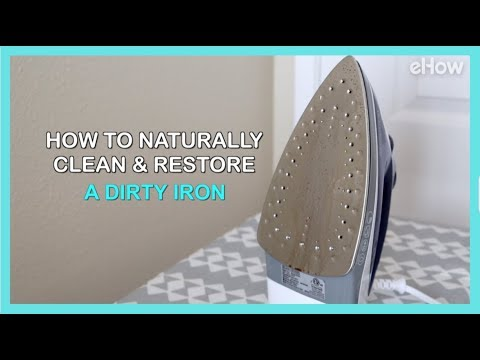 How to Naturally Clean & Restore a Dirty Iron | DIY IRL