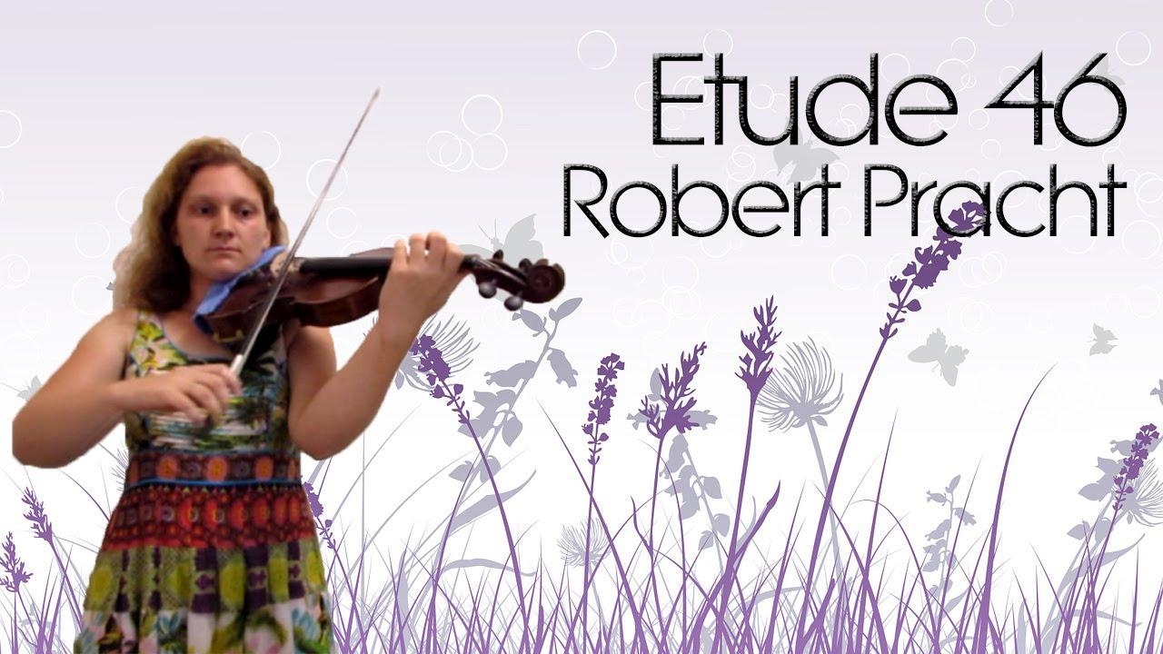 Robert Pracht Etude 46 Beginner Violin Etude Youtube