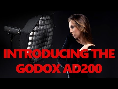 Godox AD200 off camera flash Review - Adorama Flashpoint r2 eVolv 200 TTL HSS strobe