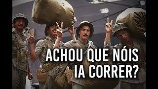 Os alemes acharam que os soldados brasileiros fossem sair correndo Felipe Dideus
