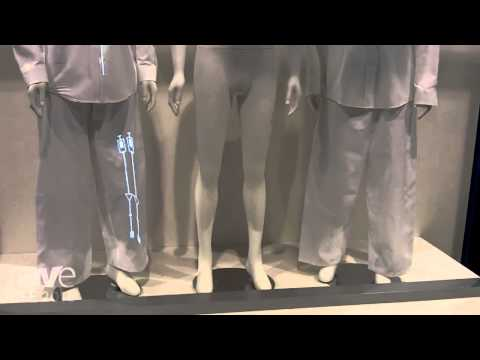 DSE 2015: Panasonic Demos Projection Mapping on Mannequins