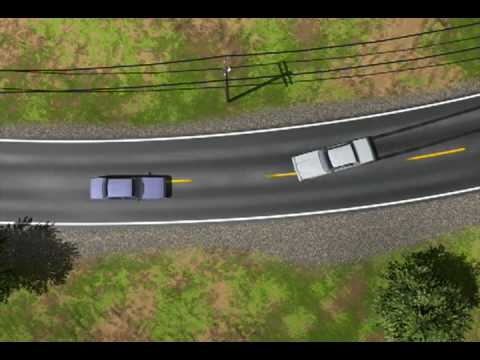 Trial Graphics: Skid Mark Analysis: Accident Investigation: - YouTube