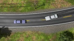 Trial Graphics: Skid Mark Analysis: Accident Investigation: