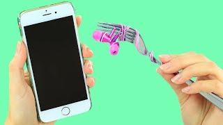 7 аксессуаров для мобильного телефона своими руками