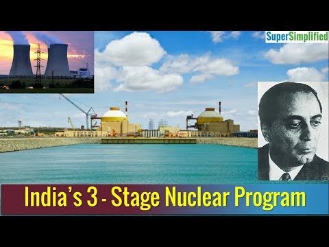 Three Stage Nuclear Program of India