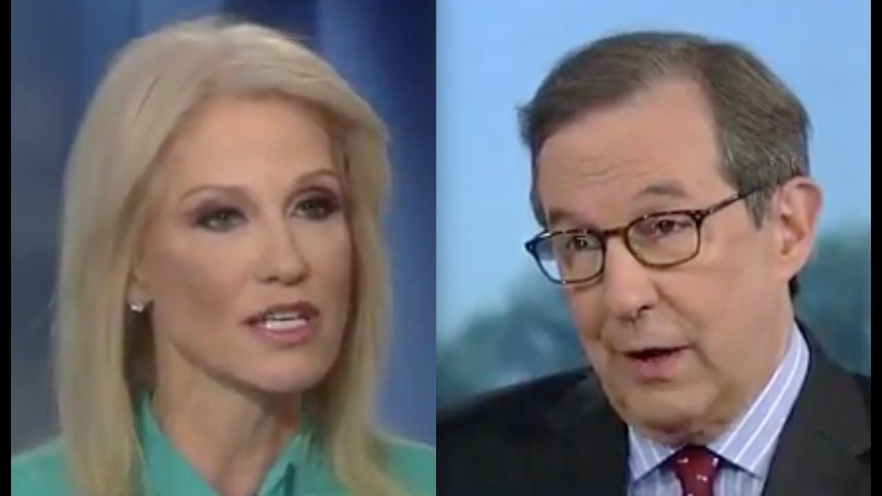 Image result for Kellyanne Conway Scorches Chris Wallace On Quid Pro Quo Argument