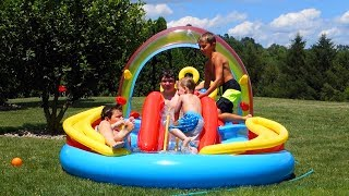 INTEX RAINBOW RING INFLATABLE POOL PARTY