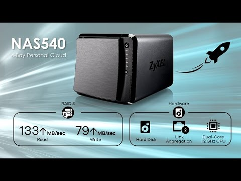 Driver for ZyXEL NAS540 Personal Cloud Storage