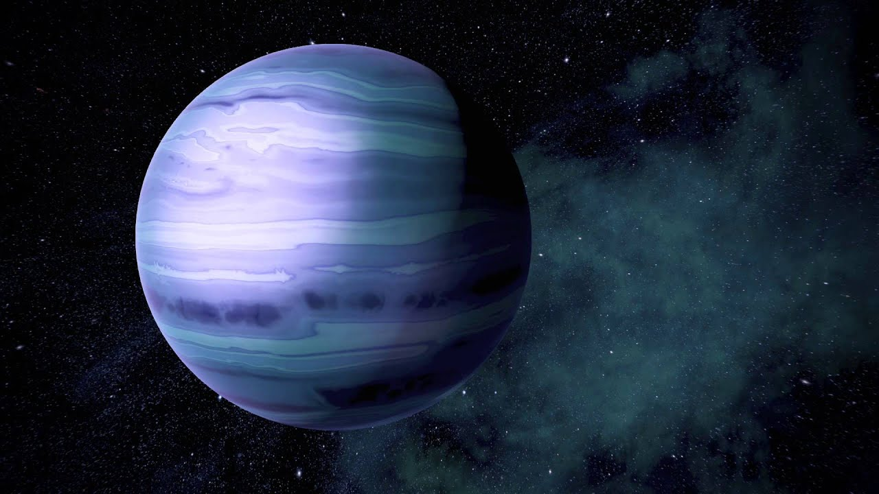 blue giant planet - photo #1