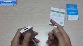Giới thiệu Cáp chuyển đổi Mini Displayport sang HDMI Chính Hãng Ugreen UG-10401 Cao cấp