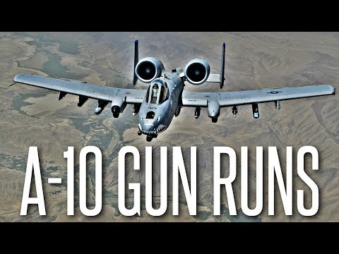 A-10 Gun Runs and Rocket Strikes - ArmA 3 Milsim Gameplay