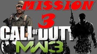 Call of Duty Modern Warfare 3 Gameplay Walkthrough | Mission 3 | Persona Non Grata