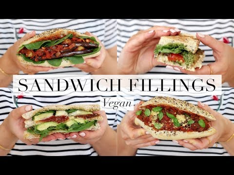 Sandwich Fillings (Vegan/Plant-based) | JessBeautician