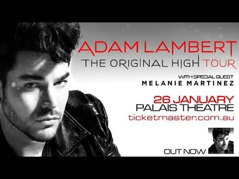 Adam Lambert - Palais Theatre   Melbourne 26.01.16