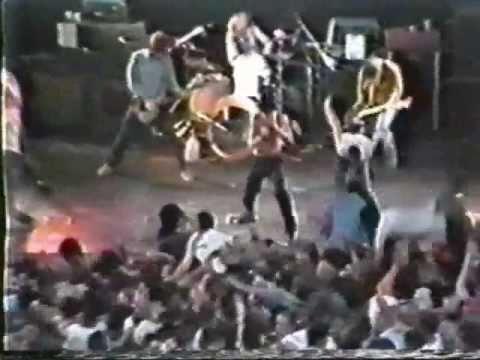 BLACK FLAG -  Depression , Santa Monica 1983
