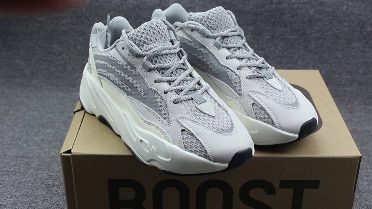 8e2f2db71e079 First LOOK  Yeezy 700 Static Unboxing Review - YouTube