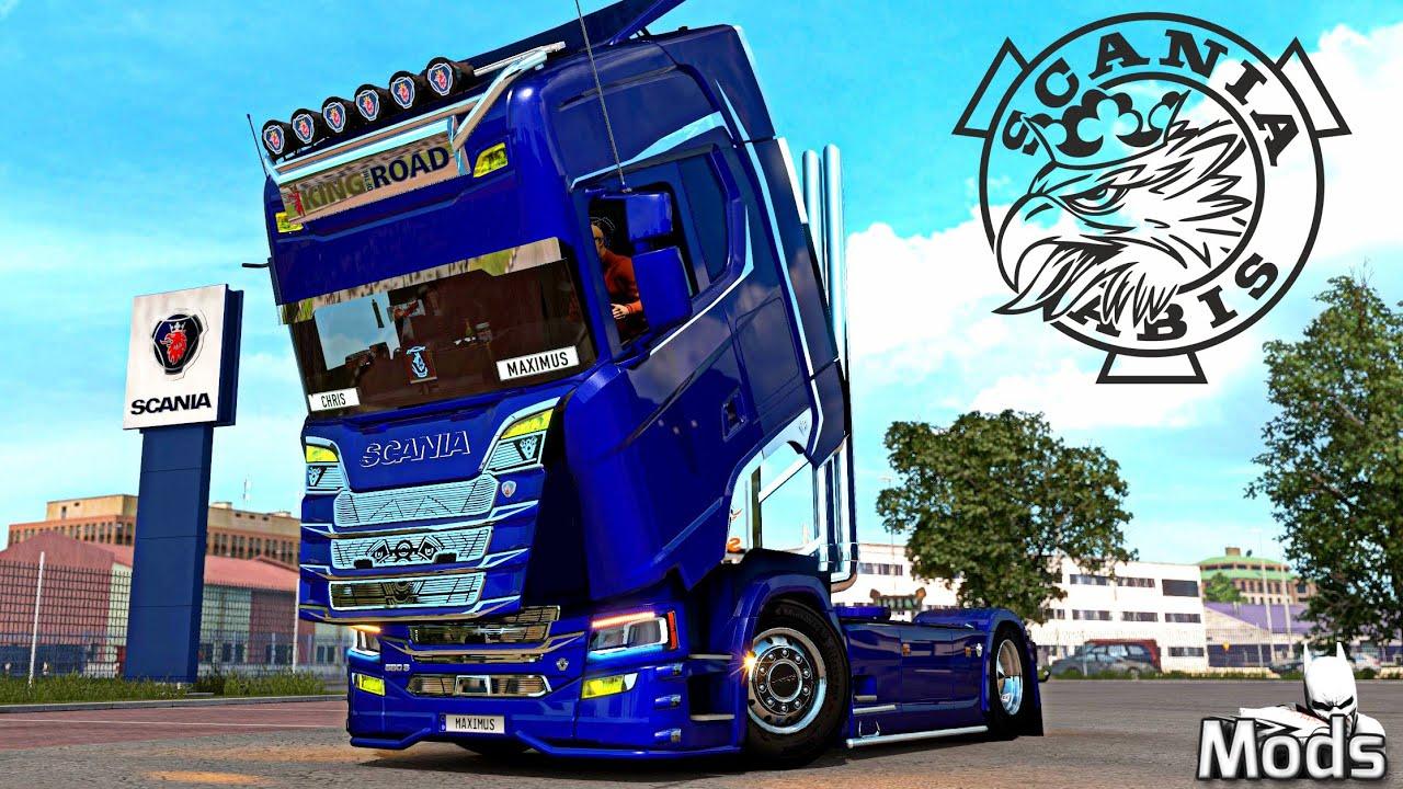ETS2 1.38 MODS - LKW Tuning ▶️ MEGA Tuning - Scania R-S Addons v5.6 [Basteln mit Maximus]