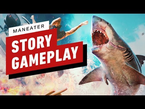 Maneater: 15 Minutes Of Story Gameplay