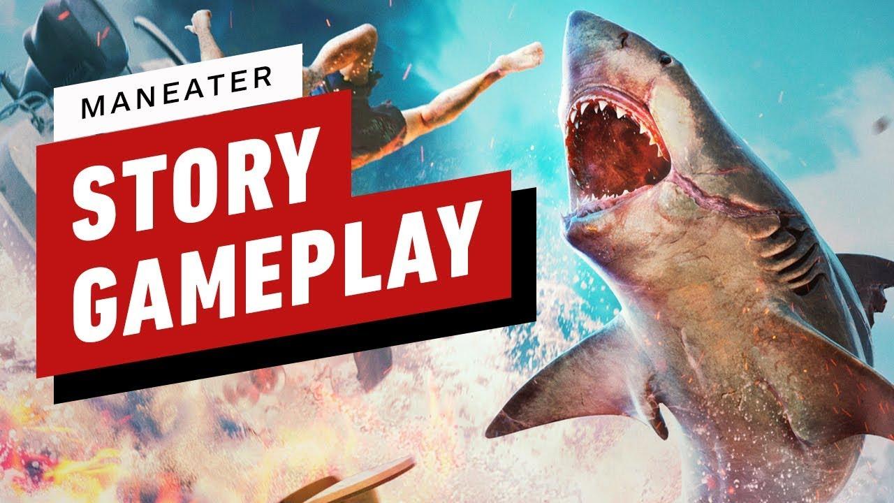 Maneater: 15 minuti di gioco Story Story thumbnail