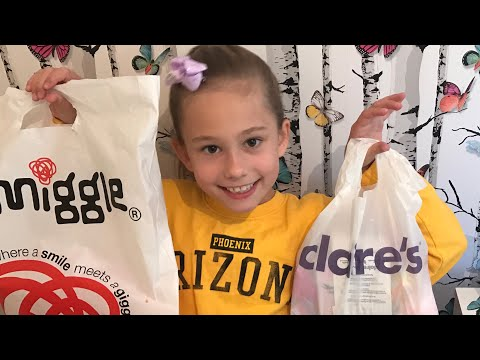 Claire's Accessories & Smiggle Haul (lip Gloss & Stationary)