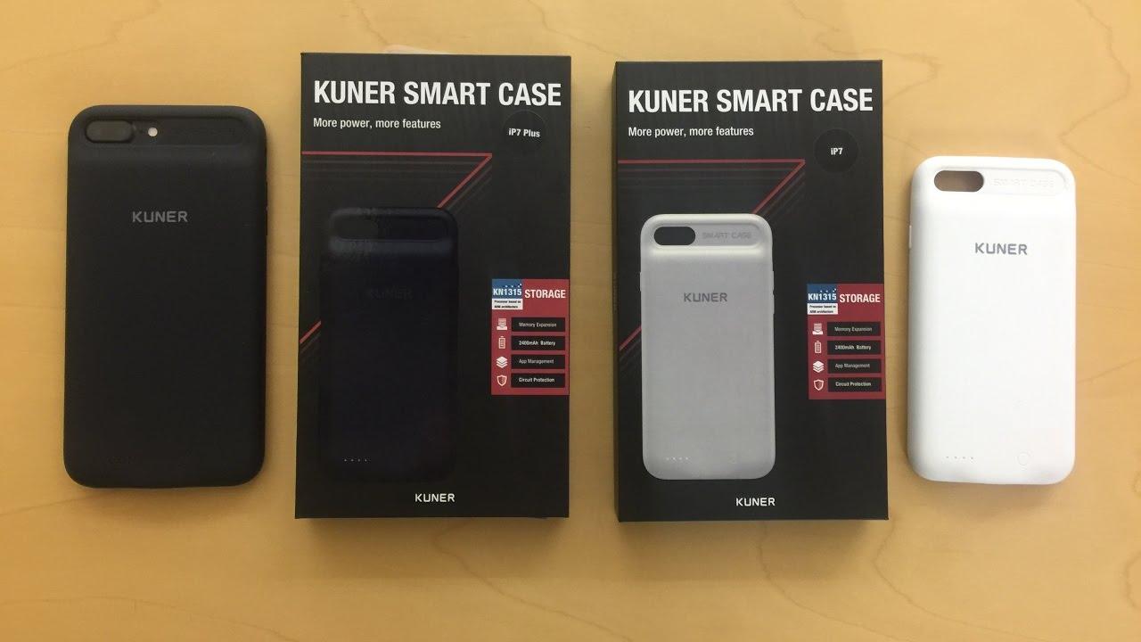 wholesale dealer d41e1 0551b Kuner iPhone 7 / 7 Plus擴容充電保護殼