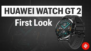 Huawei Watch Gt 2 First Look Always On Display Long Battery Life Youtube