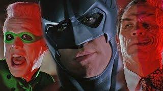 Бэтмен навсегда. Самая детская и и глупая часть