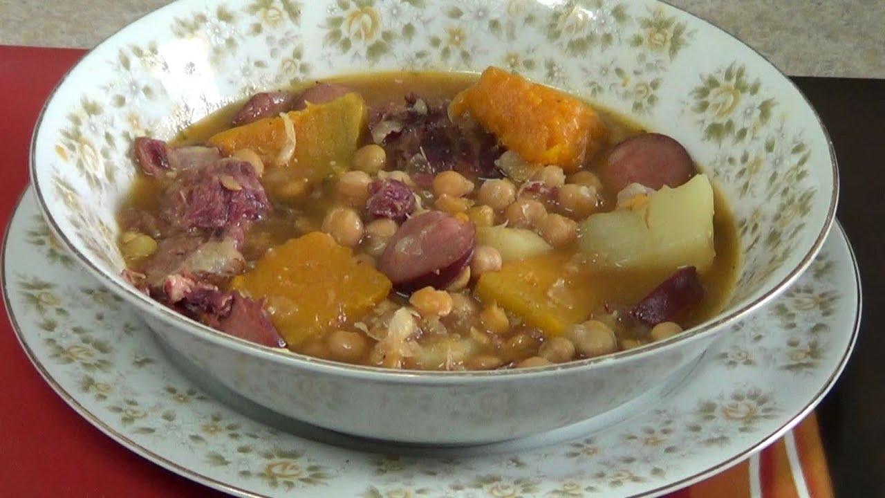 Potaje de garbanzos como cocinar un buen potaje de for Cocinar garbanzos