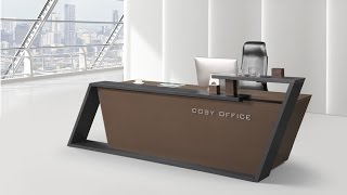 most beautiful reception desk  design<