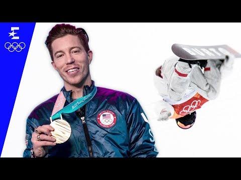 Shaun White Talks Through His Olympic Gold Medal Winning Halfpipe Run   Pyeongchang 2018   Eurosport