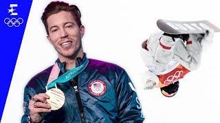 Shaun White Talks Through His Olympic Gold Medal Winning Halfpipe Run | Pyeongchang 2018 | Eurosport
