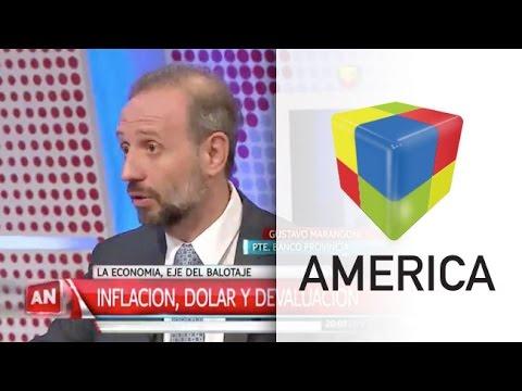 Marangoni y el plan de Scioli de un dólar a 10 pesos en enero