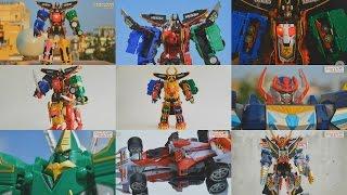 All DX Gattai Kaizoku Sentai Gokaiger 2011! DX 海賊戦隊ゴーカイジャー! Power Rangers Super Megaforce!
