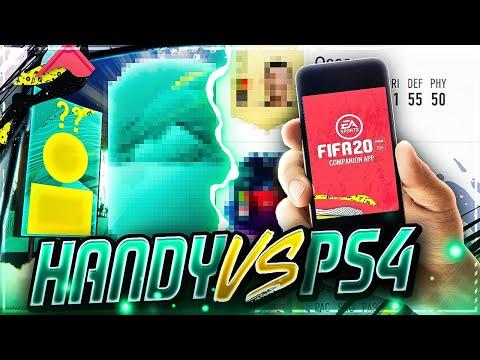 FIFA 20: MEHR 'PACKLUCK' Bekommen?🧐 HANDY VS PS4 PACK EXPERIMENT