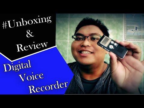 Gadget - Unboxing & Review 8GB Digital Voice Recorder (Perekam Suara)