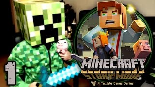 Minecraft Story Mode Episodio 1 - PARTE 1 - PS4 - [LuzuGames]