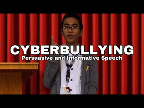 cyberbullying---persuasive-and-informative-speech