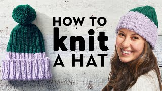 How To Knit A Hat For Beginners   Stitch Club   Good Housekeeping