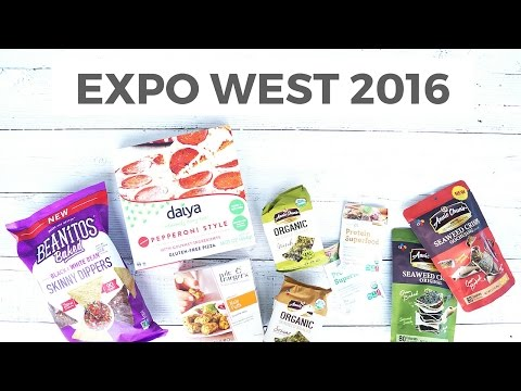 Expo West 2016 Favorites | Healthy Food Haul | Healthy Grocery Girl