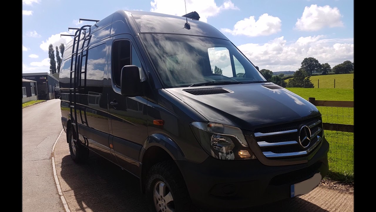 Mercedes Sprinter Van >> 4wd MWB Sprinter Camper Conversion - YouTube