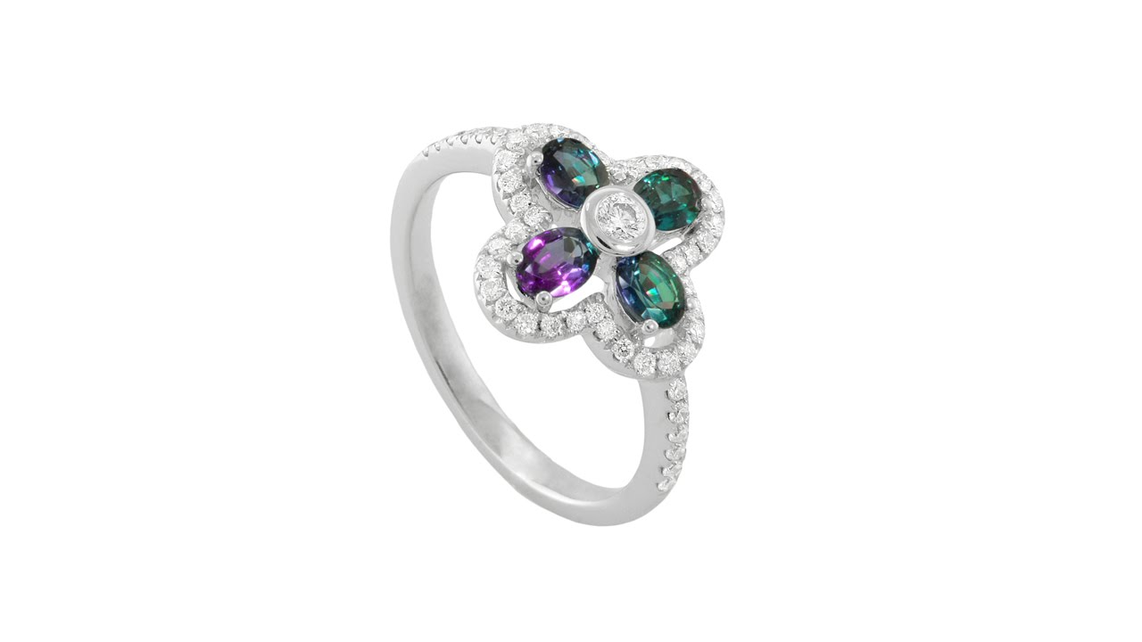 103733f18 Mark Henry Alexandrite Ring Color Change. The Gem Collection