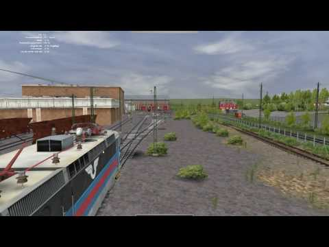 Kiruna in Rail Simulator / RailWorks  