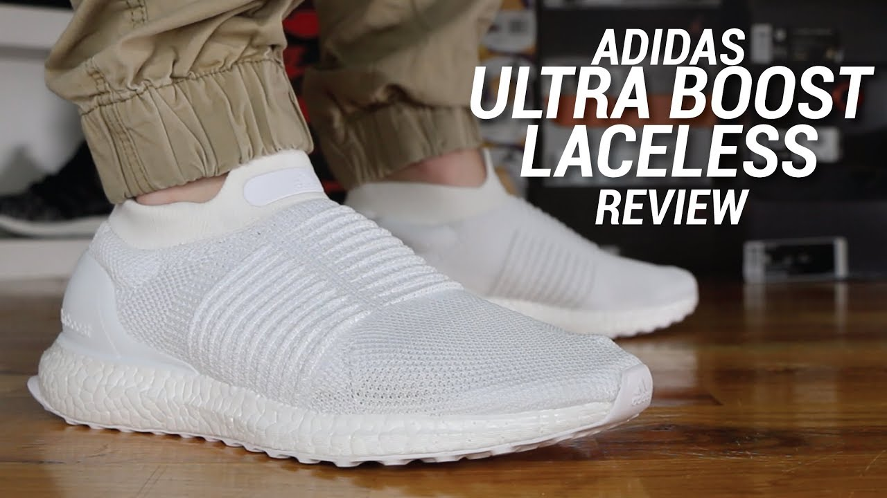 Adidas Ultra Boost Laceless Review Youtube