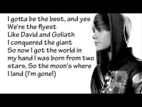 Justin Bieber   Never Say Never Lyrics + Song Download 360p