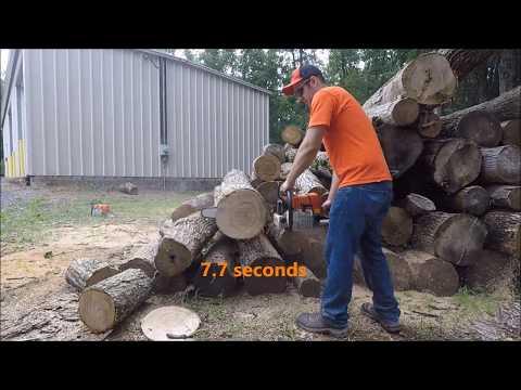 660 clone (farmertec) vs Stihl 660 - YouTube
