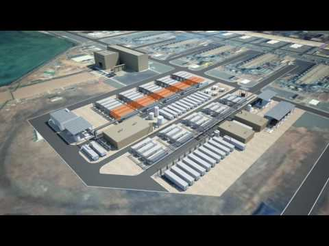 Hyflux Containerized Desalination Modular System