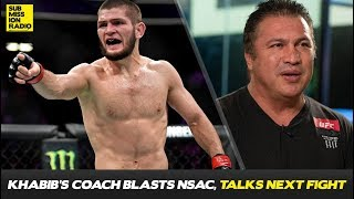 Khabib Nurmagomedov's Coach Absolutely BLASTS Nevada Commission Over Khabib's Punishment