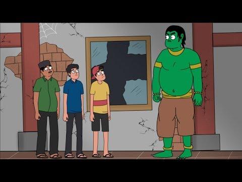 Hantu Gedung Angker - Kartun Hantu Lucu - Kartun Horor - Surgatoon