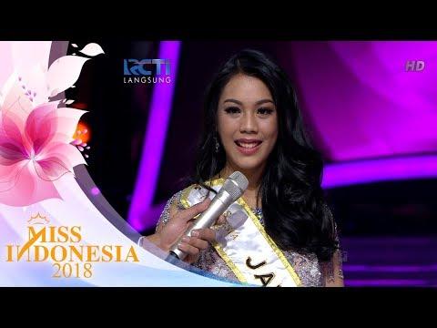 Miss Jawa Barat 'Top 5 Pertanyaan Juri' | Miss Indonesia 2018